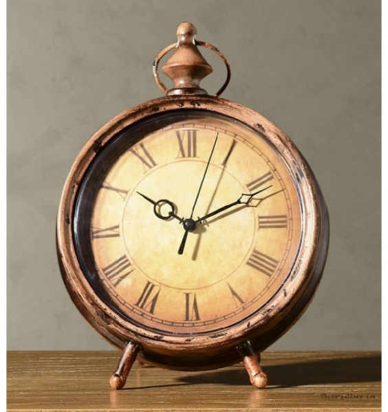 ... Clocks > Table Clocks > Antique Wrought iron ornaments creative clock