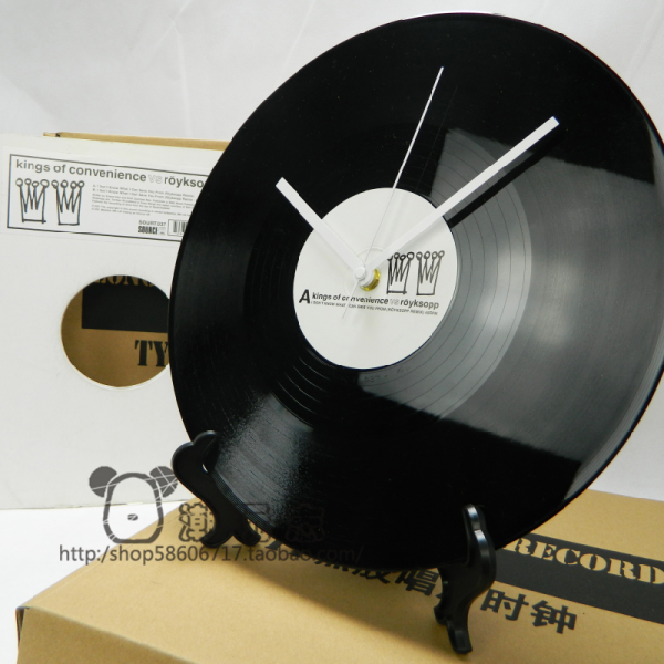 vinyl record clock creative clock clock antique clock pendulum clocks ...