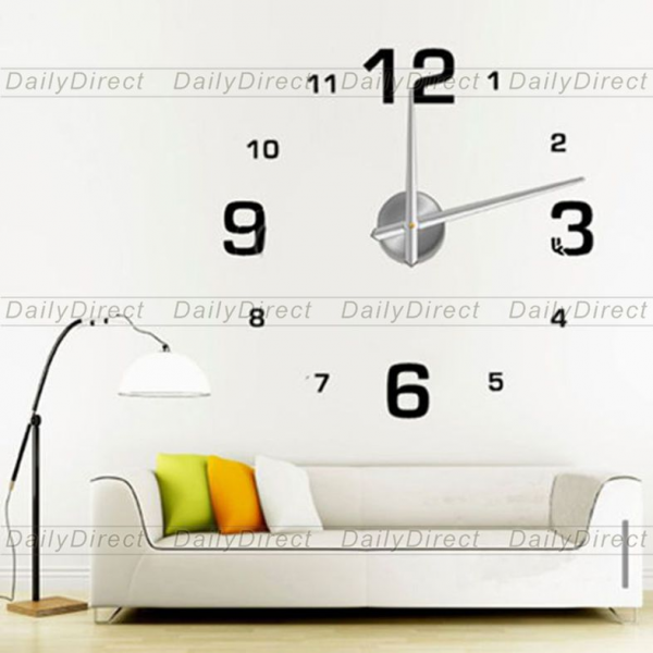 ... Stickers Large DIY Wall Sticker Clock 12S005 MAX3 Brand-in Wall Clocks