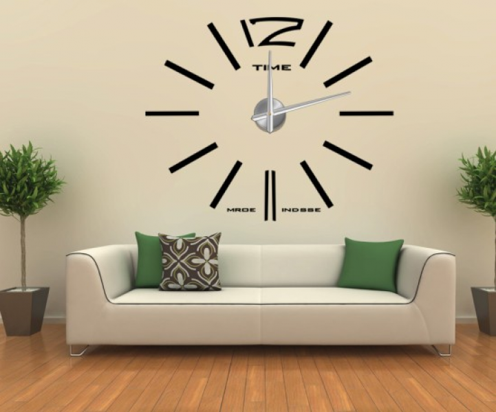 Decor 3D Wall Sticker Big Wall Clock (12S003) - China Wall Sticker ...