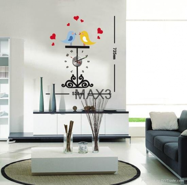 Wall decals diy wall sticker clock - 10D040 - MAX3 (China Manufacturer ...
