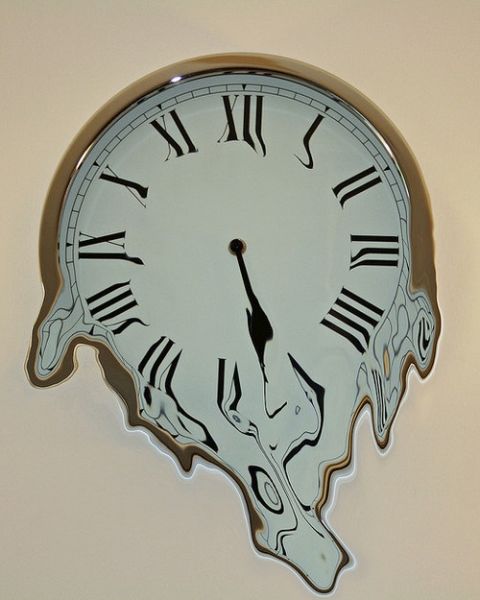 Melting Clock | clocks and watches | Pinterest