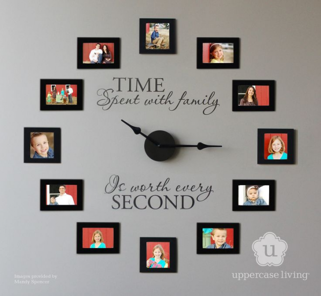 Family Wall clock! | Craft Ideas | Pinterest