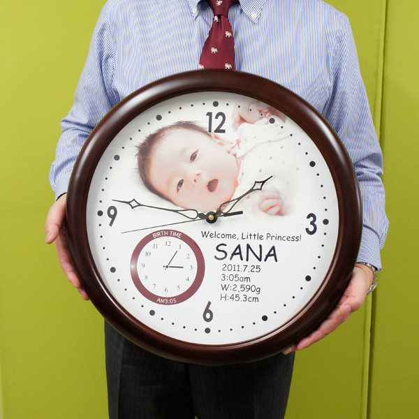 ... clock baby birth wall clock (birth time display ) 10P28oct13