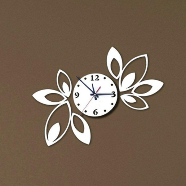 ... Wall Clock Modern Design Luxury Mirror Wall Clock Crystal Mirror Wall