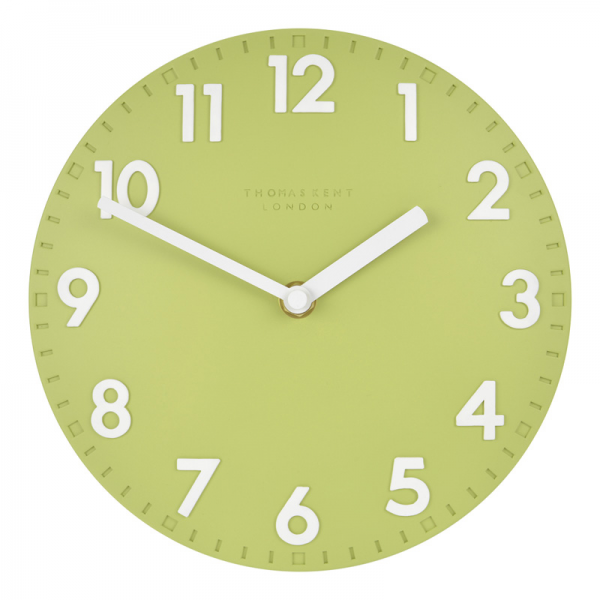 Thomas Kent Clocks | Camden Fern Wall Clock 8 / 20cm - Clocks Ltd
