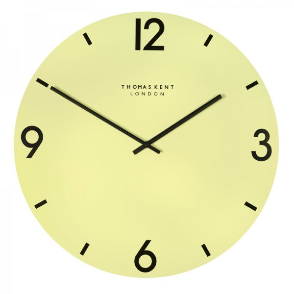 ... Clocks › Thomas Kent › Thomas Kent 24 Bistro Pistachio Wall Clock
