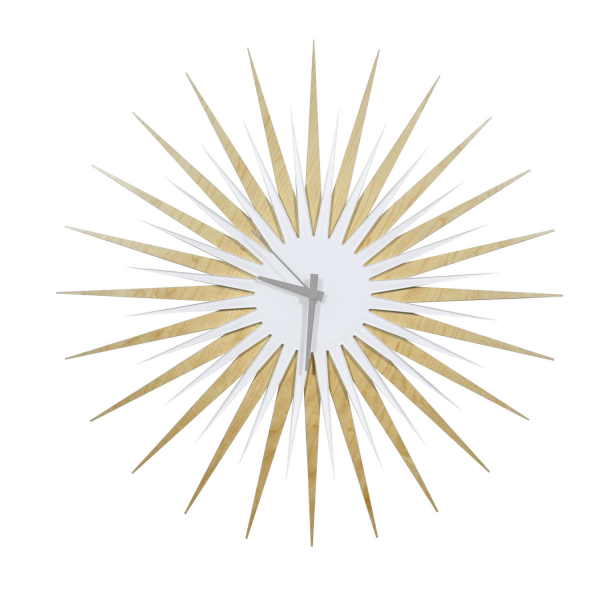 Wall Art Objects For Sale | Midcentury Modern Starburst Clock 'Grey ...