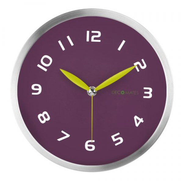 DecoMates Non-Ticking Wall Clock | HomeClocks.com