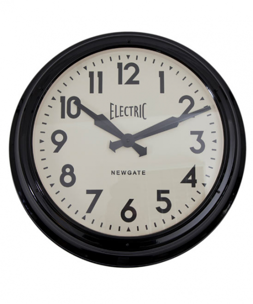 Black Giant Electric Wall Clock, Newgate Clocks. Shop more gifts from ...