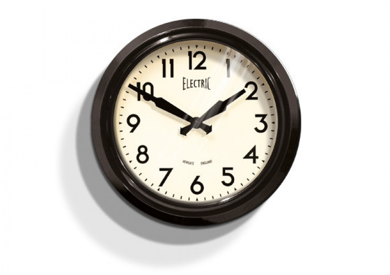 Newgate 50s Electric Wall Clock — Vintage and Nostalgia Co.