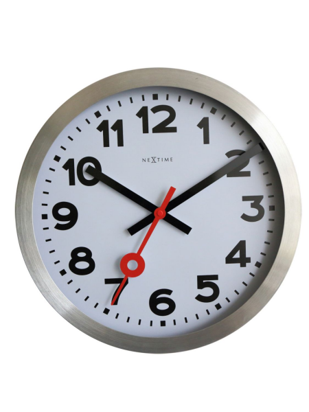 Clocks NeXtime Wall Clocks 3999ar Station Arabic Wall Clock