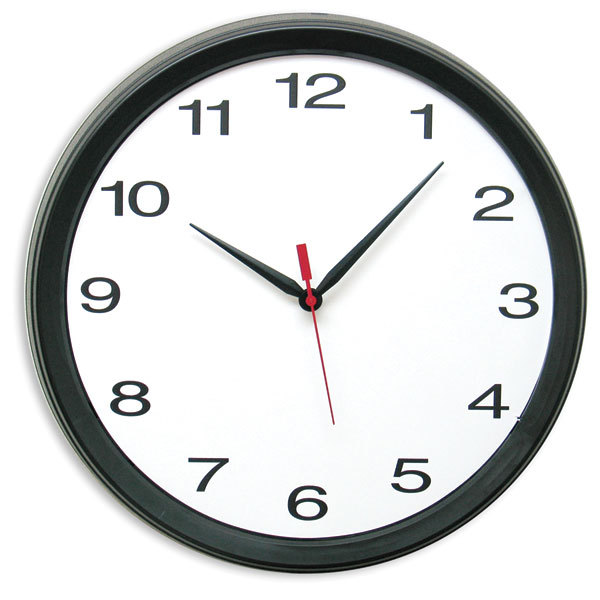 14 Plastic Analog Quartz Wall Clock