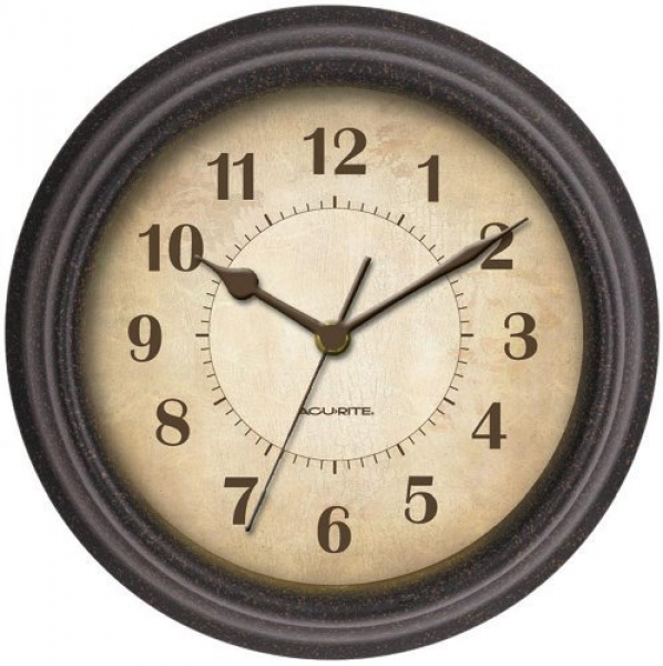 ... 46037 8 Inch Plastic Wall Clock by Chaney Instruments - Decorstuff.com