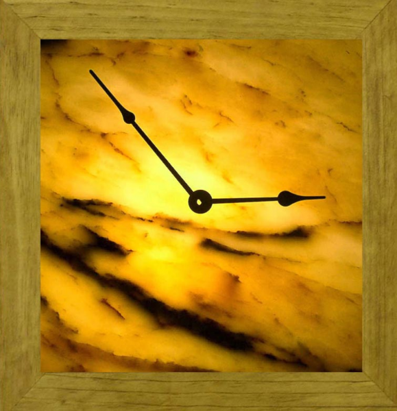 Illuminated Onyx Wall Clock gift sets