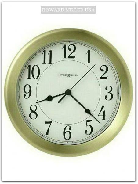 Wall Clocks / Quartz Wall Clocks / 625-346 Howard Miller Wall Clock ...