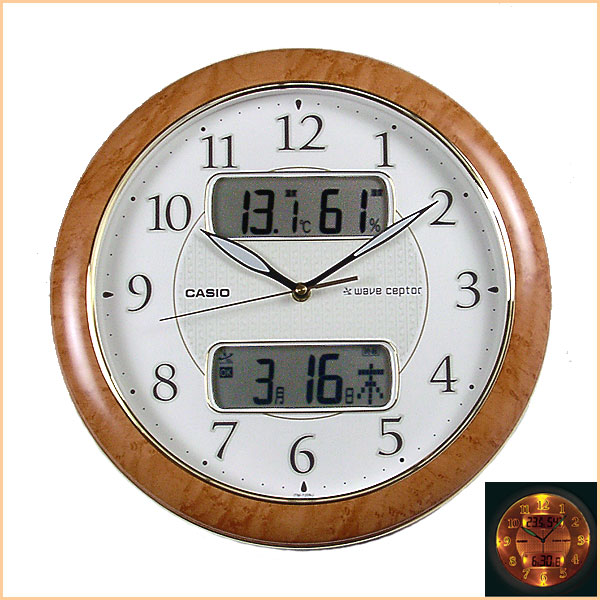 : Casio radio wall clock [Order product] also get new ♪ radio clock ...