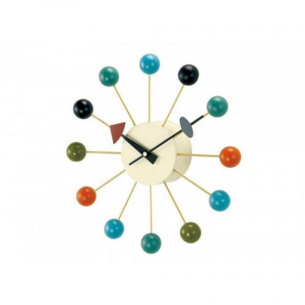 Modern Nelson Colorful Ball Wall Clock Replica