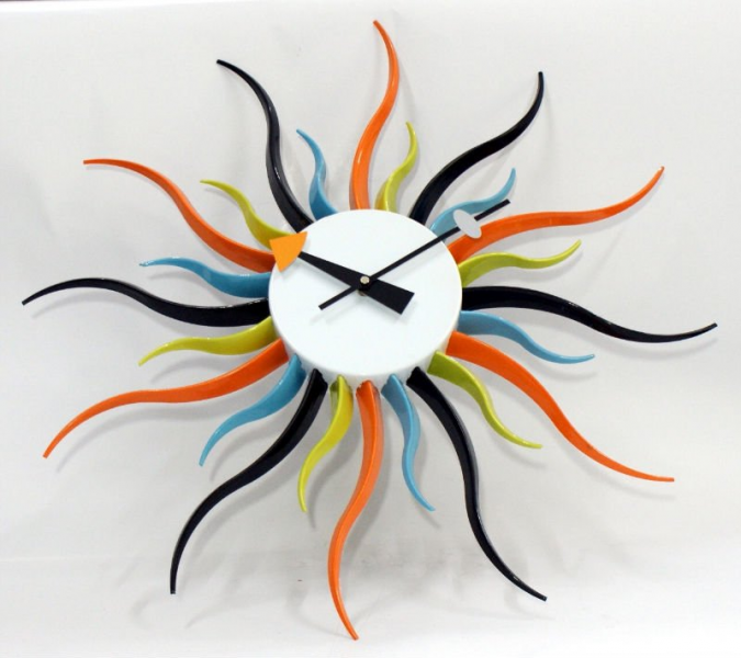 colorful Modern wall clock, View wall clock, OEM Product Details from ...