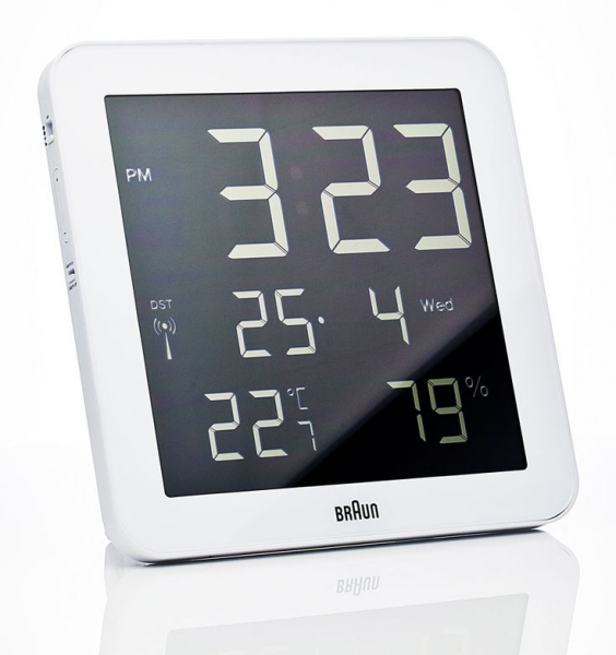 Braun Digital Wall Clock | Braun Design | Pinterest