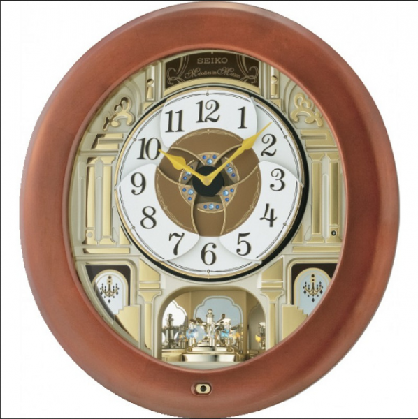 ... Clocks > Seiko Clock - Melodies in Motion: Melanie Musical Wall
