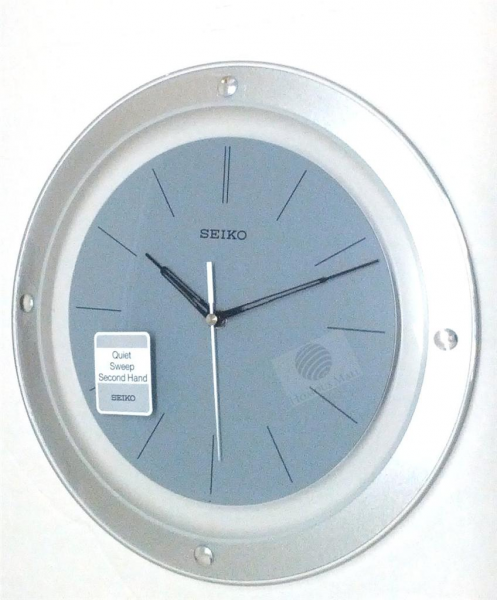 Seiko 30CM Round Wall Clock QXA143B Quiet Sweep Second Hand Roman ...