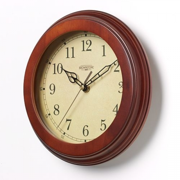 Small Round Wall Clock: Shopping Nexus: Home & Garden