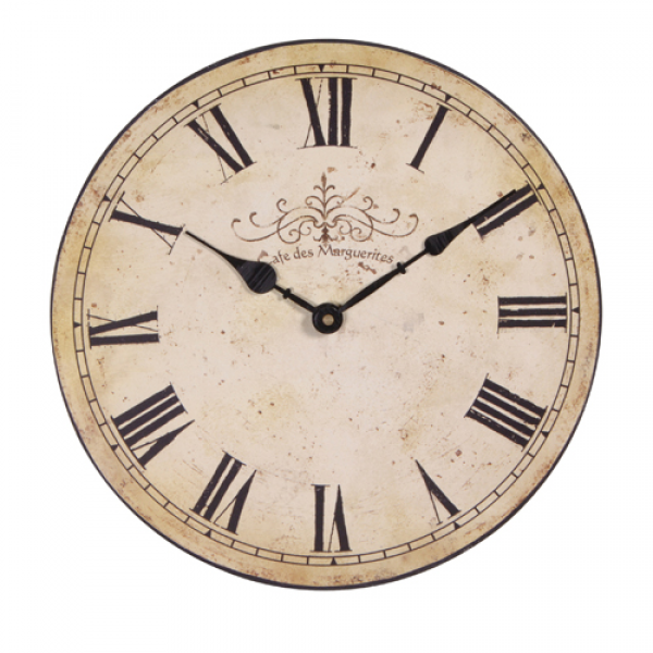 Small Cream Wall Clock |