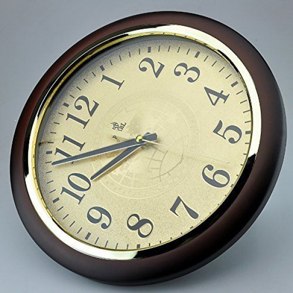 ... inch Modern Non Ticking Silent Quartz Analog Digital Wall Clock | eBay