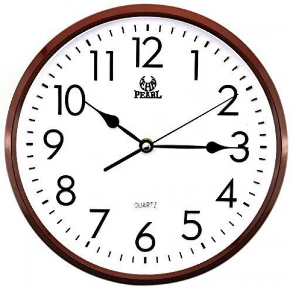 ... Modern Non Ticking Silent Quartz Analog Digital Wall Clock | eBay