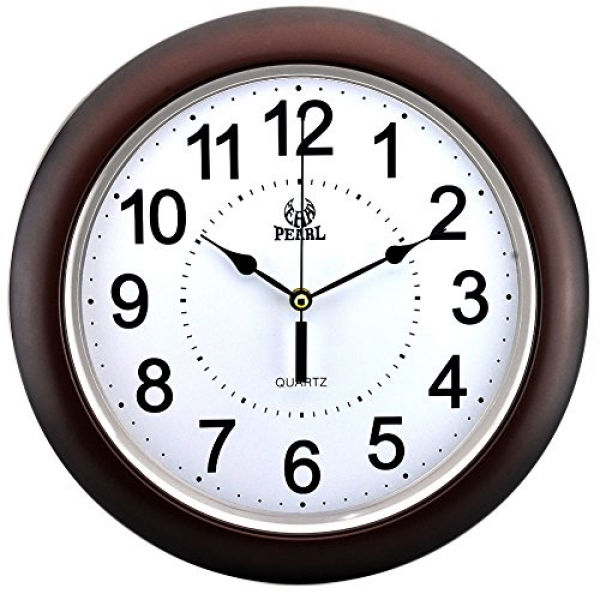 Non Ticking Silent Quartz Analog Digital Wall Clock: Digital Wall ...