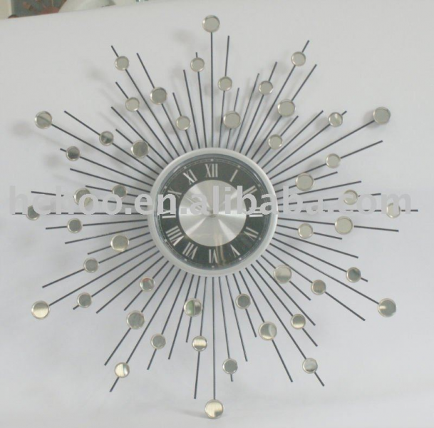 Stainless steel wall clock, View wall clock, OEM Product Details from ...