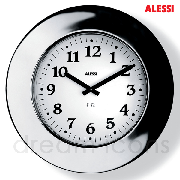 Alessi Momento Large Wall Clock, by Aldo Rossi - Free UK Delivery - In ...