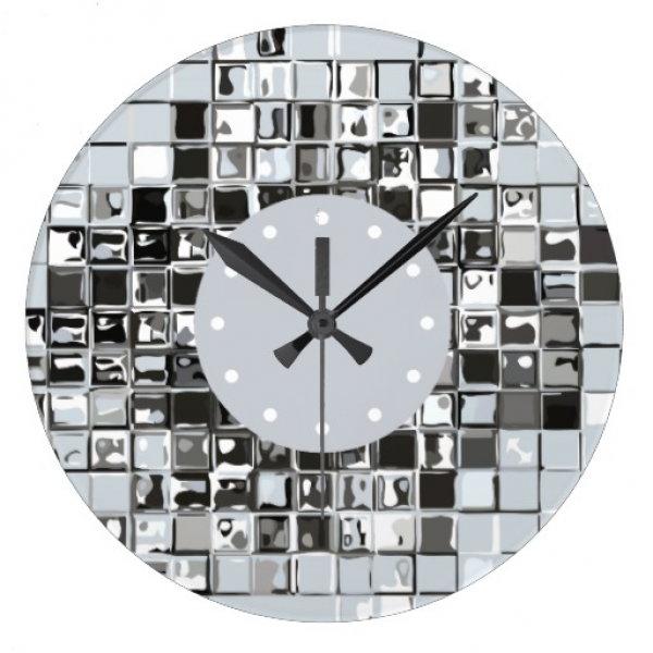 Modern Art Wall Clocks | Zazzle