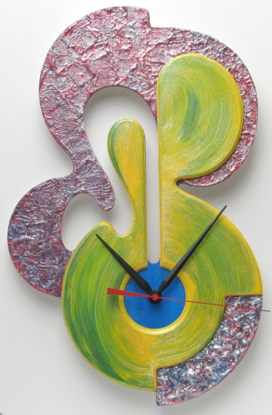 Unique Modern Art Contemporary Wall Clock