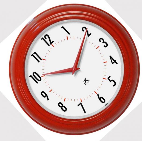 Red Wall Clocks Modern Wall Clocks Www Top Clocks Com