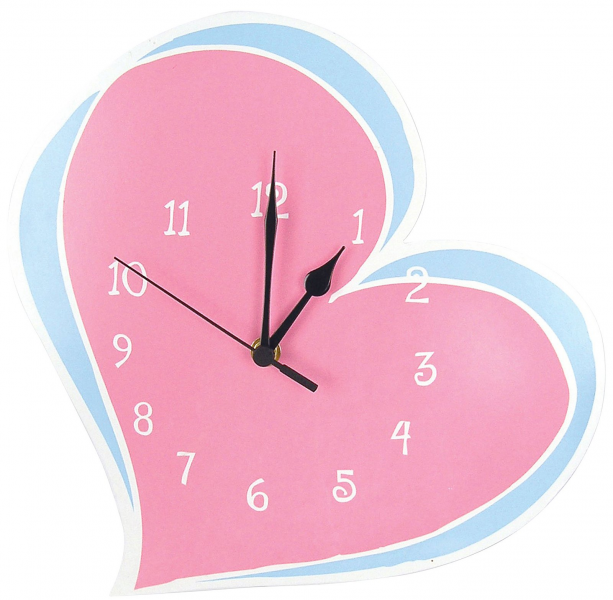 Trend Lab Wall Clock - Heart - Free Shipping