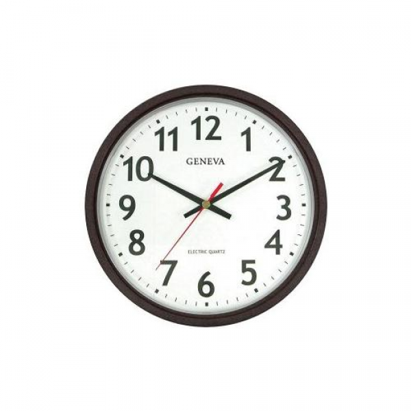 Geneva Commercial Wall Clocks 14 Electric Wall Clock - Walmart.com