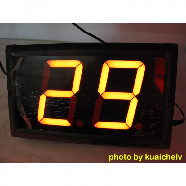 LED Large Countdown Clock 4 High Digit 99 Seconds Countdown Remote ...