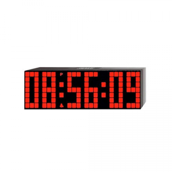 Big Time Clocks Lattice LED Digital Alarm / Countdown/Up Clock with ...