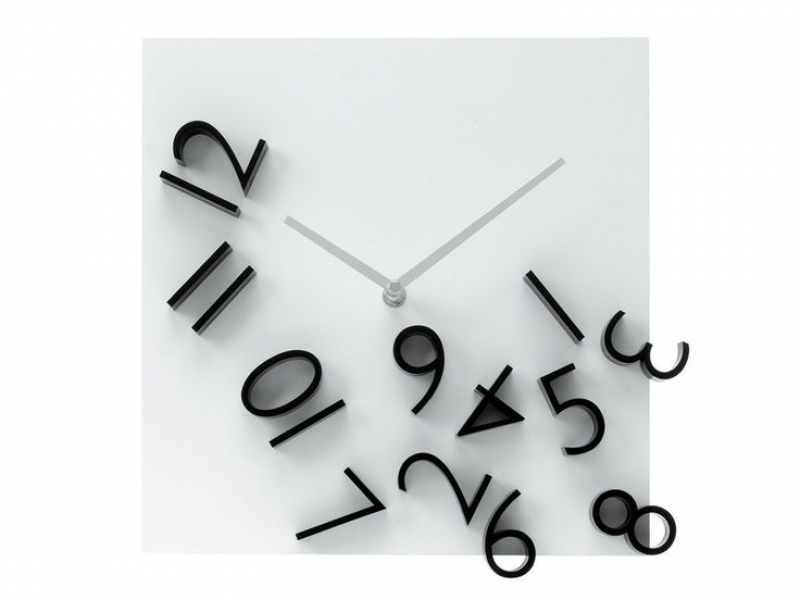 Modern Time Scattered Wall Clock | clocks | Pinterest