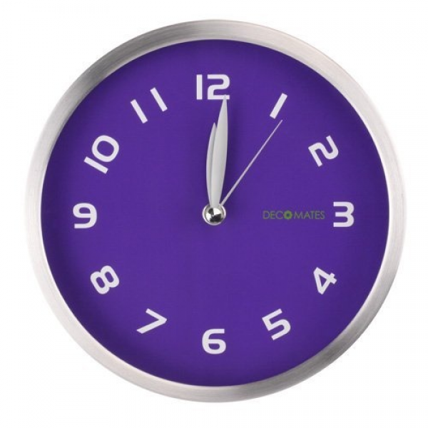 DecoMates Non-Ticking Silent Wall Clock #OPIEuroCentrale # ...