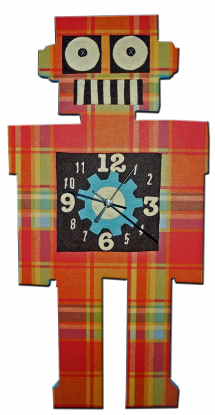 Home \ Wall Decor \ Clocks \ Rodybot Handmade Wall Clock