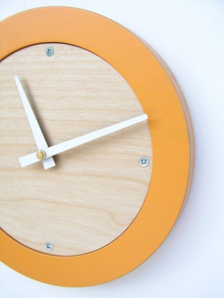 ... Modern Wall Clock by Uncommon Handmade - Modern - Wall Clocks - by