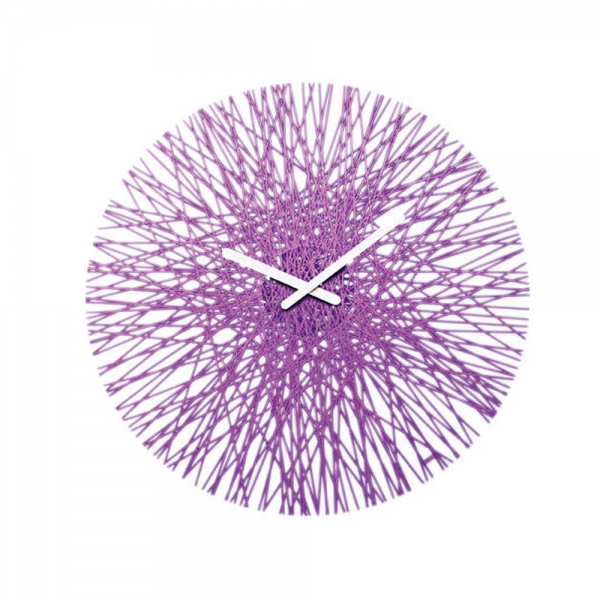 Koziol Silk Purple Wall Clock | Jarrold, Norwich