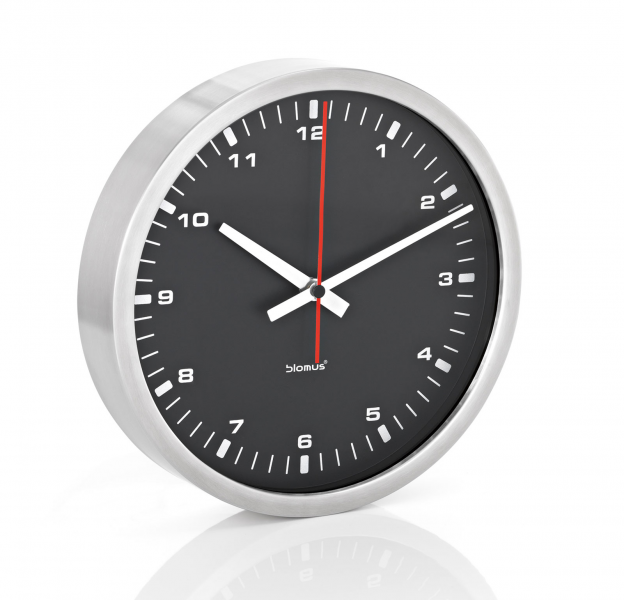 ... Contrasting Wall Clock by Blomus in Clocks and Weather Stations