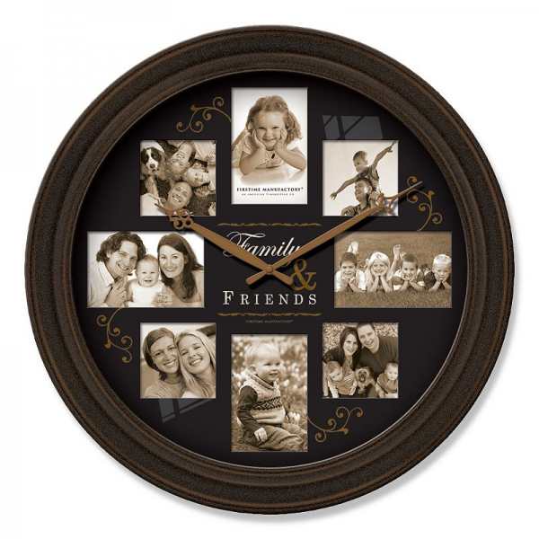 Kohls.com FirsTime FirsTime Family Frame Wall Clock (Black): questions ...