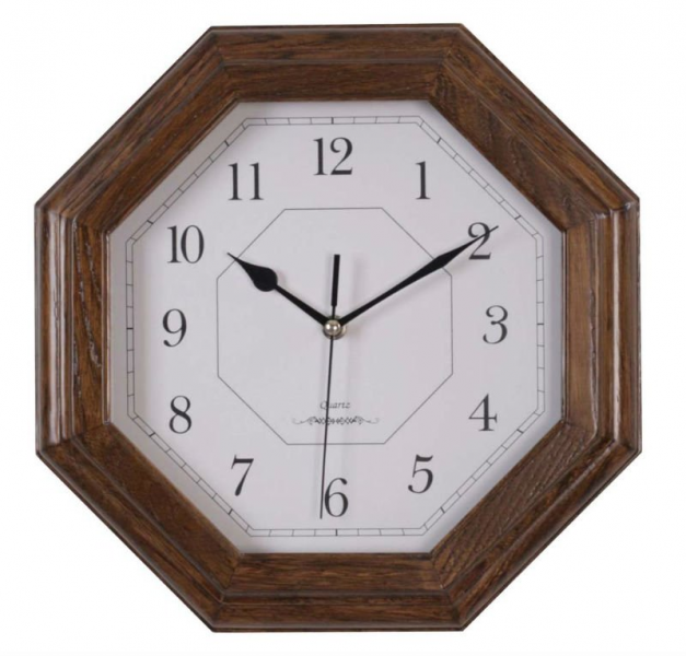 Wood Wall Clock With Wooden Frame - Buy Wood Wall Clock,Cctagon Wall ...