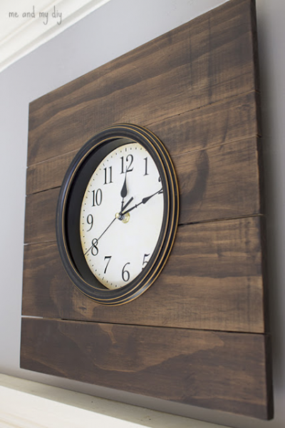 Be Different...Act Normal: Wood Framed Wall Clock [Knock Off Decor]