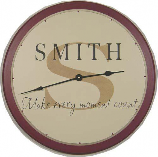 Personalized Wall Clocks | American Woodcrafts